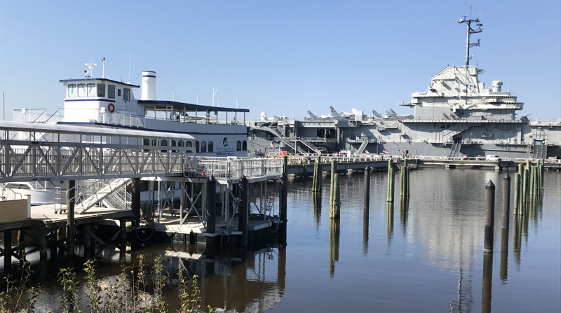 Plan Would Drop Off Cruise Ship Passengers At Patriots Point - Cruise ship yorktown