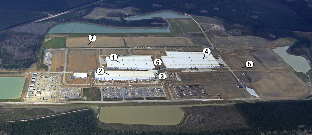 volvo carves manufacturing site from berkeley county woods