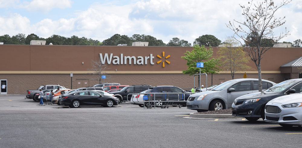 The Wal-Mart Supercenter store at 7400 Rivers Ave. is one of two North Charleston stores that will be remodeled before Jan. 31. (Photo/Ashley Heffernan)