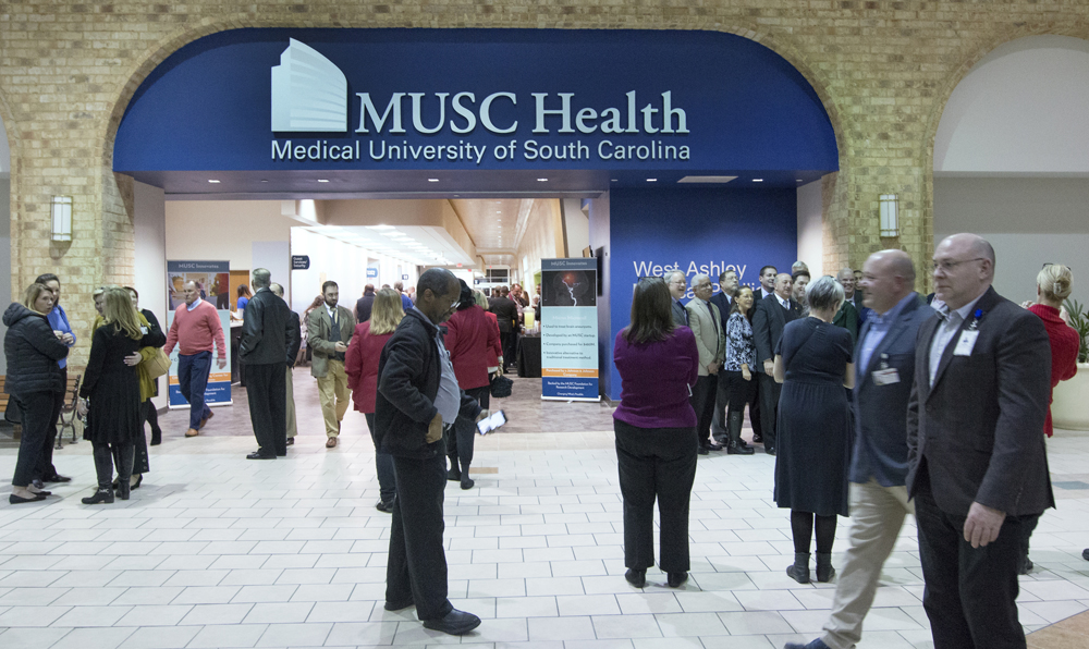 The new MUSC West Ashley Medical Pavilion is located in the former J.C. Penney store in Citadel Mall. (Photo/Provided)