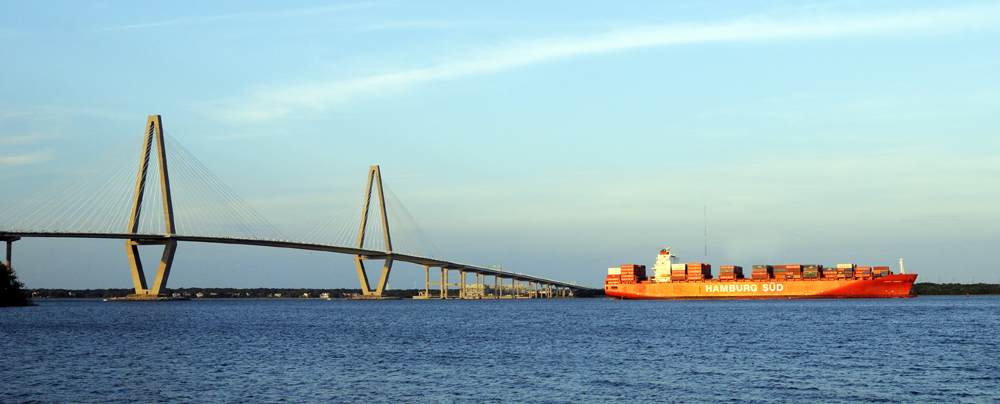 Congress has authorized the Charleston Harbor deepening project with the passage of the Water Infrastructure Improvement for the Nation Act. The bill is awaiting President Obama's signature. (Photo/Provided by S.C. Ports Authority).
